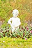 Biały chłopiec — Zdjęcie stockowe