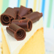 Chocholate cake — Stock Photo