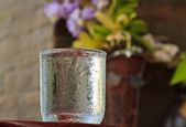 Water glass — Stock fotografie