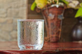 Water glass — Stock Photo