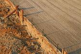 бетонный пол — Стоковое фото