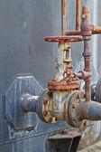 Control valve — Stock Photo