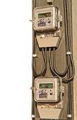 Energy meter — Stock Photo