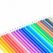 Coloured pencil — Stockfoto #38227347