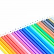 Coloured pencil — Stock fotografie #38227347