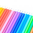 Coloured pencil — Stockfoto #38227429
