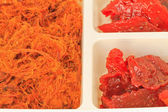 Dried shredded pork — Stock Photo