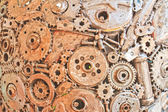 старый металл — Стоковое фото
