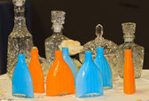 бутылки водки — Стоковое фото
