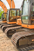 Backhoe loader — Stock Photo