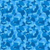 Seamless Camouflage Pattern For Boys. Tiled Texture, Background. — Stock Vector