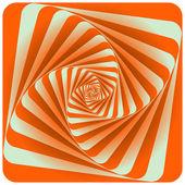 Abstract Spiral Background. Orange. Vector Illustration — Stock Vector