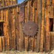 Saw mill at Bodie Ghost Town, CA. HDR photo. - Stock Photo