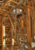 Chemung mine and mill ghost town. HDR photo. — Stock Photo