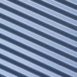 Ribbed metal blue background — Stock Photo