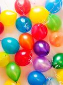 Colourful air balloons — Stock Photo