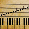 Piano keys — Photo #12512517