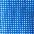 Chequered fabric — Stock Photo