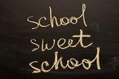 School sweet school — Stock Photo