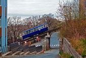 Cable railway — Stock Photo