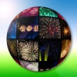 Royalty-Free Stock Photo: Fireworks collection