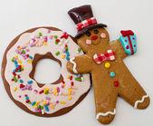 Piernika i cookie — Zdjęcie stockowe