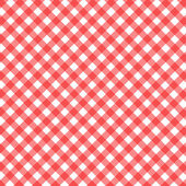 Red checked background — Stock Photo