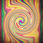 Psychedelic grunge background — Stock Photo