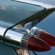 Classic Car Tail Light - Stock Photo