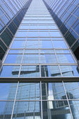 Office towers reflections — Stock Photo
