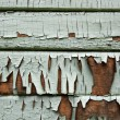 Stock Photo: Old Painted Wooden Siding