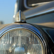 Stock Photo: Headlight Of Vintage Car