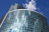 Corporate Tower And Sky — Stock Photo