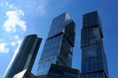 Glass And Steel Skyscrapers — Stock Photo