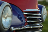 Vintage car grille — Stock Photo