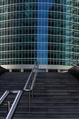Staircase to office building — Stock Photo
