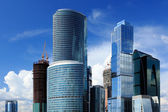 Moscow City Business Center — Stock Photo