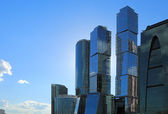 Skyscrapers in Moscow City — Stock Photo