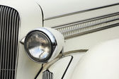 Headlamp of vintage car — Stock Photo