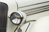 Headlamp of vintage car — Stock Photo