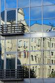Buildings reflection — Fotografia Stock