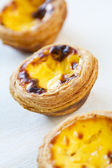Pastel de nata — Stock Photo