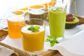 Fruits smoothie — Stock Photo