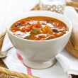 Minestrone soup — Stock Photo #40893605