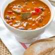 Minestrone soup — Stock Photo #40893795