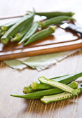 Okra — Stock Photo