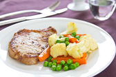Pork steak — Stock Photo