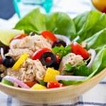 Tuna salad — Stock Photo #40940643