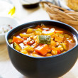 Vegetables soup with chickpea — Stock Photo #40940873