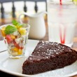 Chocolate fondant — Stockfoto #40954091